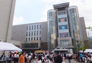 2015年9月12日(土)に始まった文化祭「桜苑(おうえん)祭」の様子