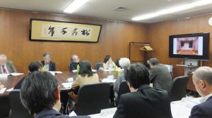10月28日に開かれた「区民文化センター基本構想検討委員会」の第2回会議