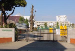 日吉・綱島でもっとも長い歴史を持つ日吉台中学校は、広いグラウンドを持っている