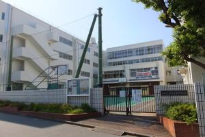 2校区500人という規模からかアットホームな雰囲気がある日吉台西中学校