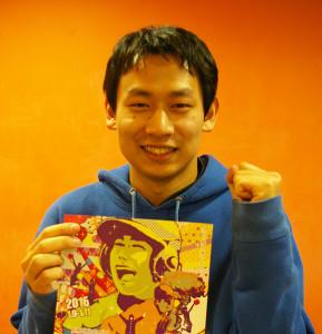 永滝雄治さんは慶應義塾高校の出身。大学で演劇の世界に入ったのは「創像工房の新歓企画で見た映像の素晴らしさに感激したから。4年間、創像工房で充実した日々を過ごせました」と、演劇仲間たちと熱く過ごした日々について語ってくれました