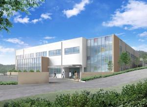 中部リハビリテーションセンターの完成予想図(川崎市の資料より)