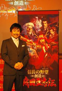 高木渉氏は元々は声優で活躍。大河ドラマへの大抜擢に大変驚き、また、真田信繁(真田幸村)を演じる堺雅人さんらとの共演や現場の一体感が嬉しかったと語ります