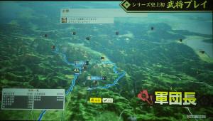 大河ドラマ「真田丸」でも注目のコーエーテクモならではの最新の3DCGマップを体感しながらゲームを楽しめる