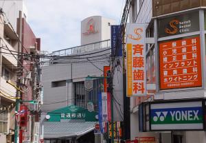 日吉駅の周辺には23の歯科がある