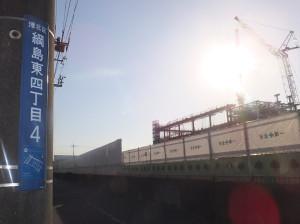 綱島SSTの建設が進む綱島東4丁目は注目の宅地