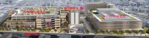 アピタ横浜綱島店とアップル研究所の間に建てられる慶應の国際学生寮
