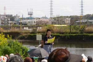 オペラ歌手の北澤幸(さち)さんが美しい歌声を披露しました