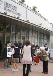 日吉台中の生徒、教職員の皆さん、本当にお疲れさまでした