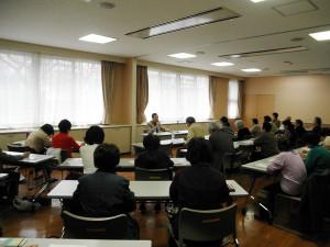下田ケアプラザの介護セミナー