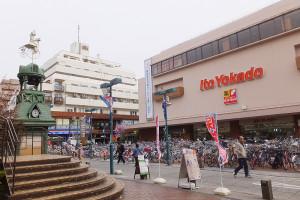 5/3(火・祝)と4(水・祝)にフリマが開かれるイトーヨーカドー綱島店前の「パデュ中央広場」
