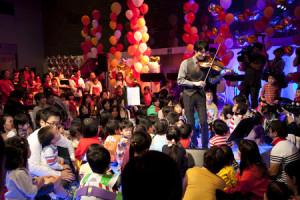 ヴァイオリニストの桜井大士(たいし)さんは東京藝術大学音楽学部卒。第14回 日本クラシック音楽コンクール 最高位など、数々のコンクールで多く賞を受賞している(プレミアムコンサート事務局提供)