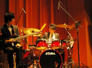 楽器の特長を体感できる独奏タイムもたっぷりと!ドラムは大迫力でした
