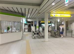 委託駅の一つである日吉本町駅