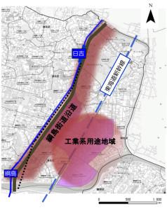 日吉綱島東部地区まちづくりビジョンの対象エリアは住所などで細かく区切られてはいない(同ビジョンより)