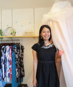 「フロラシオン」代表の佐藤美央(よしみ)さんは東京生まれ・育ち。慶應義塾大学時代に慣れ親しんだ日吉にて、今年の春(2016年5月)からお店をオープンした(写真:フロラシオン提供)