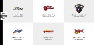 B1リーグの「中地区」は川崎や横浜のほか東京(渋谷)・新潟・富山・愛知県(豊橋)の6チームで戦う(ホームページより)