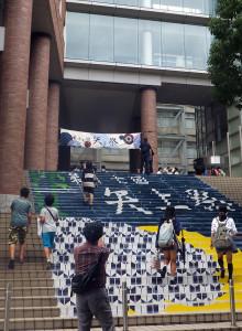2日間とも午前中に雨が降るあいにくの天候でしたが、2日目は昼前から雨も止み、多くの人が訪れていました