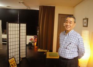 日吉駅から日吉中央通りを歩いて徒歩2分のリラクゼーションサロン「和ごころ」。川崎木月、新丸子出身の経営者・戸木(とき)純さんが日吉と出会って60数年。慶應義塾を卒業して40数年。大手化粧品会社勤務を経て、また日吉に戻ってきてから7年が経った