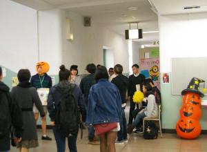 ここでもやっぱり「ハロウィン」!多くの人が来訪していました
