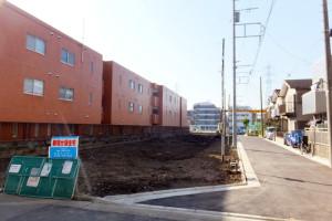 日吉7丁目の全10戸の新築一戸建て建設予定地