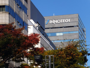 イノテックの本社ビル