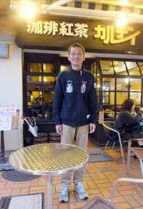 個人経営の綱島の店が大好きだという高山さん、これからは綱島を拠点に闘病経験を世界へ発信する