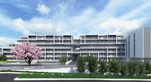 伊藤忠商事の大型独身寮は2018年3月までに完成予定(完成イメージは伊藤忠商事のサイトより)