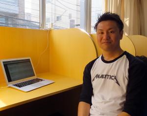 2012年に日吉で起業した林さん