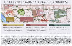 「クリオ横濱綱島」の位置図(新聞に折り込まれたチラシより)