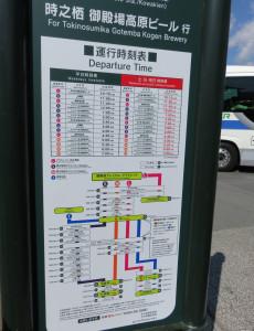 なお、御殿場プレミアアウトレットからは箱根や河口湖方面への路線バスが運転されているため、日吉から買物&観光という使い方もできます
