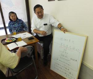 南浩史さん(右)は、代表取締役の荒井一枝さん(左)らの理念に共感し、この事業の立ち上げを応援しているという。南さんの「勘」もあり、日吉本町のこの場所で開業するに至ったという