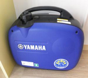 災害時に停電となったら、人工呼吸器やたんの吸引機が使用できなくなってしまうことから、自家発電機を設置。動力となる危険物のガソリンを近隣のガソリンスタンドで備蓄してもらうことに