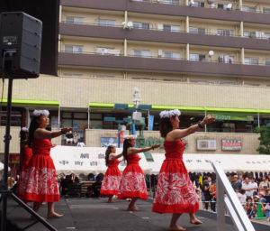 綱島カルチャーセンターによるステージも盛り上がっていました