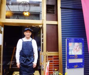 甘味処「浜大」が日吉駅近くにオープン!代表の若宮博彦さん。元々祖父が「スーパー浜大」を創ったこの地での運営にこだわり、新たなチャレンジとして店をゼロから立ち上げた