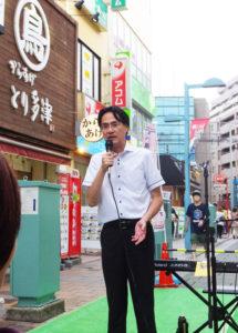 港北区の横山日出夫区長も、「港北区が横浜市18区の中で最も一人あたりのごみ排出量が少ない。これからも意識をより高く、ごみの分別と食品ロスなどのごみ排出を減らすよう心がけてもらいたい」と市民に呼び掛け