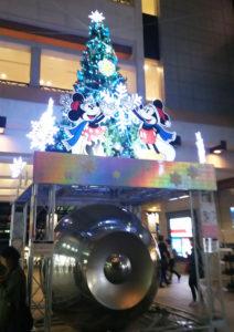 夜も静かに、また美しく日吉駅を照らします。(17時45分頃撮影)