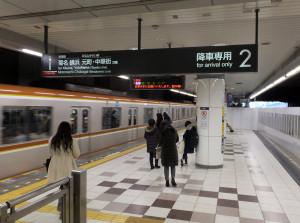 現在は「特急」が停まらない日吉駅