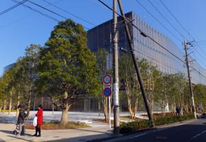 綱島駅側から見た「綱島TDC」(1月7日)