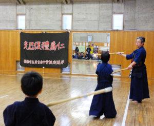 「交剣知愛(こうけんちあい)」という言葉を通じ、子どもたちにも剣道の素晴らしさを伝えていきたいと飯山さんは熱くこれからの夢についても語る