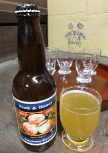 白鳳(はくほう)の「甘み」が今年の春の特徴とのこと。毎年異なる味を楽しむのも地ビールの愉(たの)しさ(2018年3月5日)
