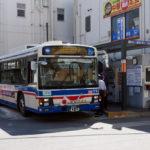 綱島駅東口での臨港バス