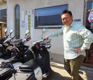 東山田連合町内会(都筑区)との、災害時の物資運搬や情報伝達などの連携を目的とした「東山田バイク隊」も結成している。「地域の役に立ちたい」と乙幡さん