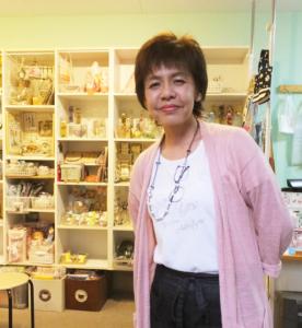 M工房でのサマーフェスタ企画や、綱島商店街の夏の企画にも参画している小泉さん。「地域で活動しながら、ハンドメイド作品の素晴らしさをより多くの人と共有していきたい」と意気込む