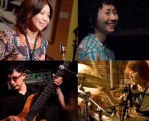初日(9月15日)は歌謡曲&アニメソング。サックスの堤智恵子さん、ベースの箭島(やじま)裕治さん、ピアノの佐久間優子さん、ドラムの臼井かつみさんが演奏予定(同店提供)