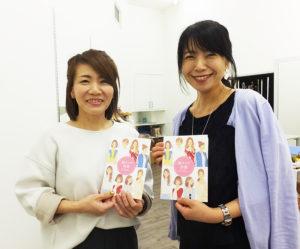 ユニクロトレッサ横浜店内のスタイリング・コンサルティングサロン「ユー・スタイリング(You-Styling)」がオープン1周年。霧生(きりゅう)由佳さん(左)、松永ちえこさん(右)は、新たに顔タイプ診断に挑戦