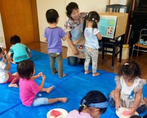 親から「離れて」の集団での経験を通じて、子どもたちが成長することを目指している(カルチャー日吉提供)