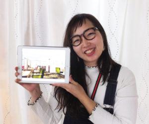 """""""ママ美容師""""高瀬千夏子さんが新店舗のデザインを手がけた。「これまでの改装時のデザインも担当したので、今回が3回目になります」とのこと"""