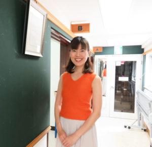 カルチャー日吉で2009年初夏からヨガ教室を開講してきた福井壽久里(すぐり)さん