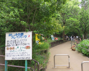 漆原さんの遺志を継ぎ、これからもそれぞれが地域での活動を続けていく(日吉本町鯛ケ崎公園、2019年6月2日)